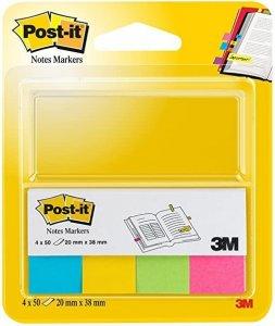 Bloček značkovací Post-it 20x38 4 x 50l ultra