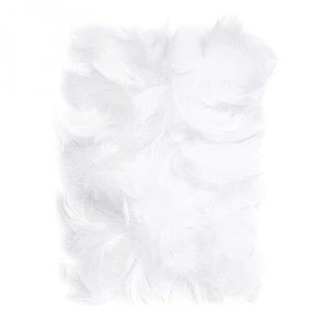 Peří 5-12 cm, 10 g, bílá
