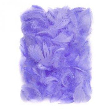 Peří 5-12 cm, 10 g, lila