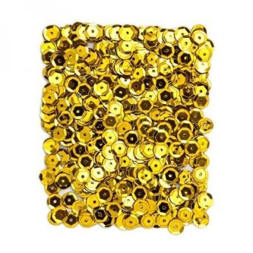 Flitry metalizované 9 mm, 15 g - zlaté