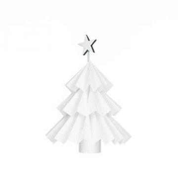 Dekorace z papíru - vánoční stromek 17 cm