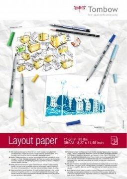 Tombow Náčrtník Layout Paper A4