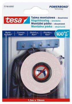 Montážní oboustranná páska na dlaždice a kov 100kg/m