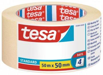 Maskovací páska STANDARD, odstranitelná do 2 dnů, 50m x 50mm