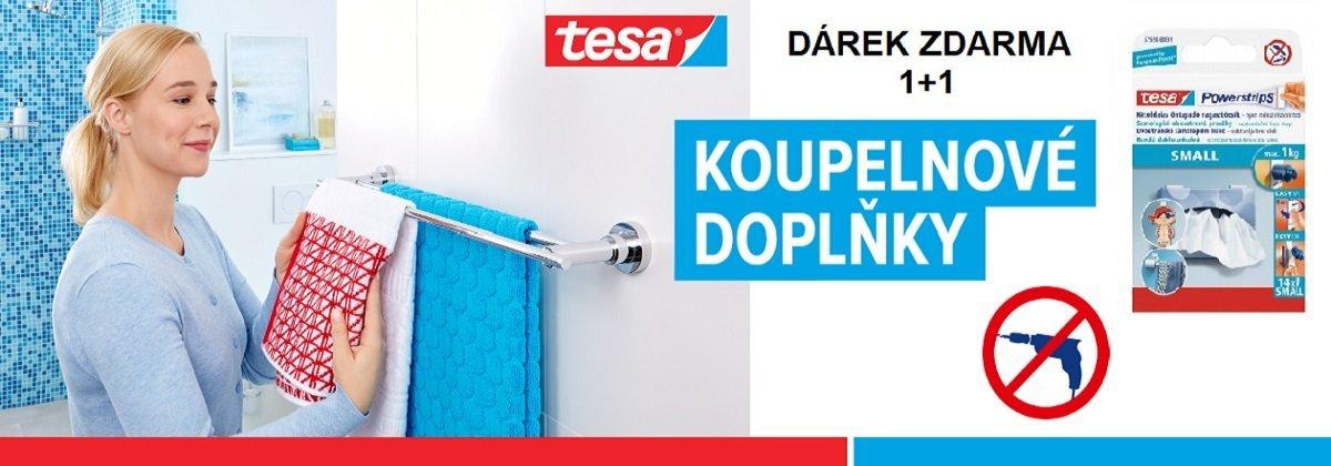 Banner - Koupelnové doplňky bez vrtání